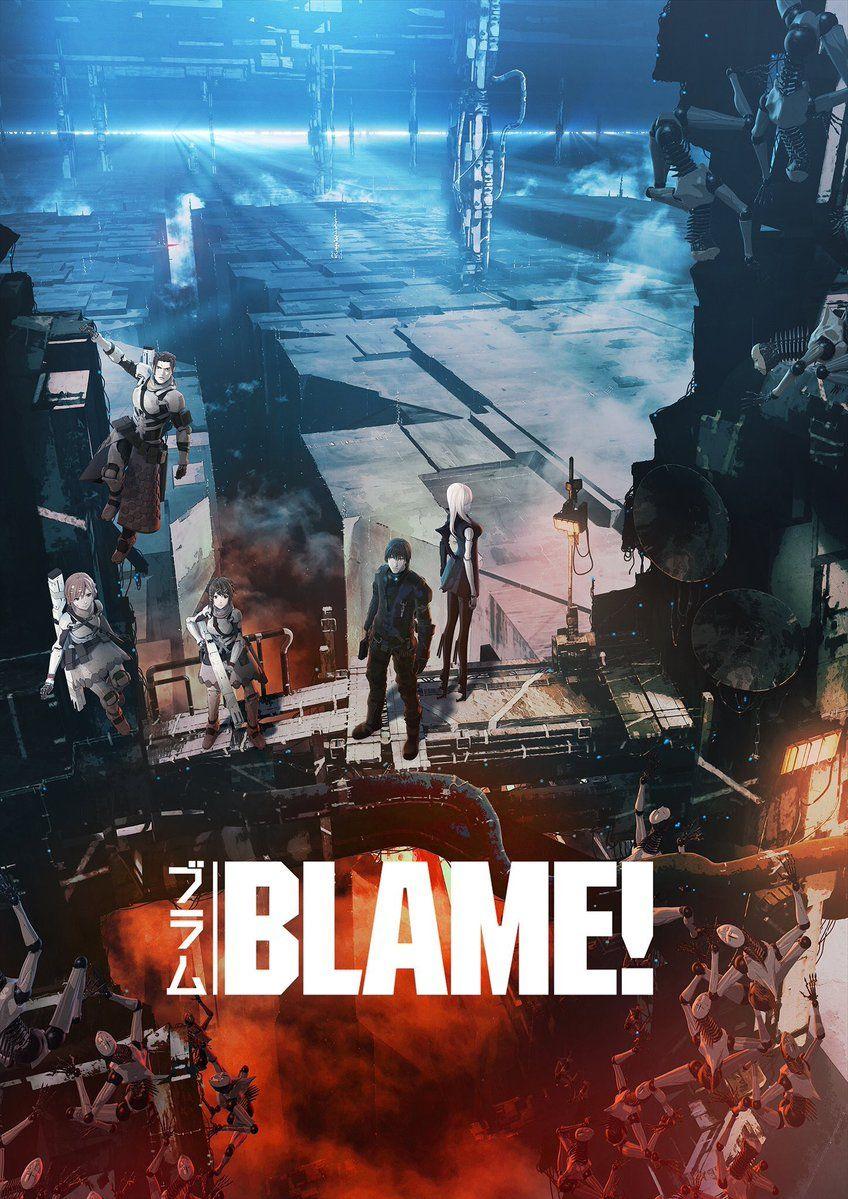 Primer tráiler en español de la película de BLAME! Blame-anime-key