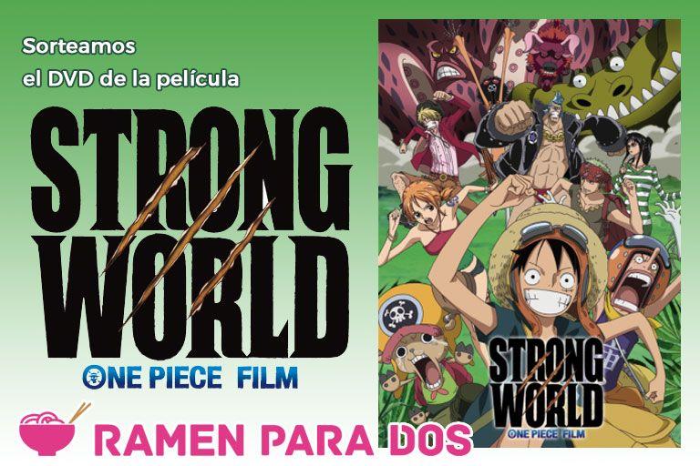 Concurso One Piece Strong World