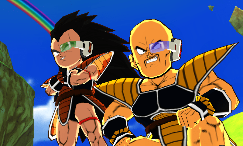 Nappa Raditz dragon ball fusions