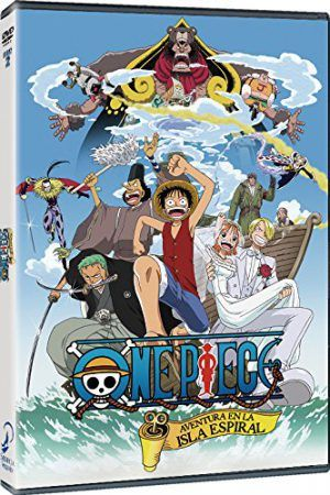 One Piece: Aventura en la Isla Espiral DVD