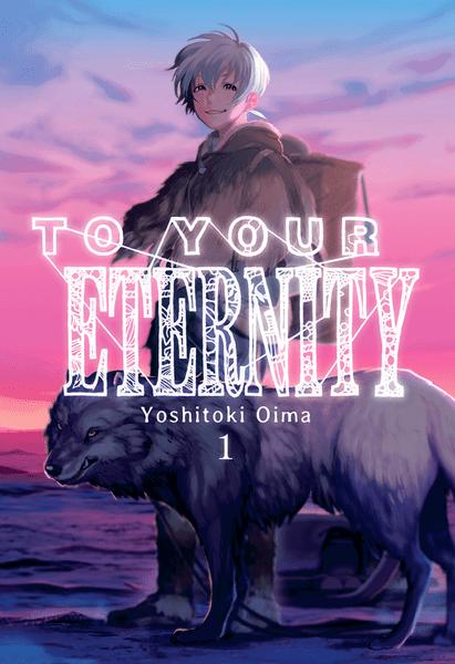 Portada del primer volumen de manga para tu eternidad