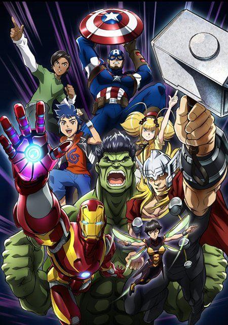 Anunciado el anime y el manga de Marvel Future Avengers Marvel-future-avengers-anime