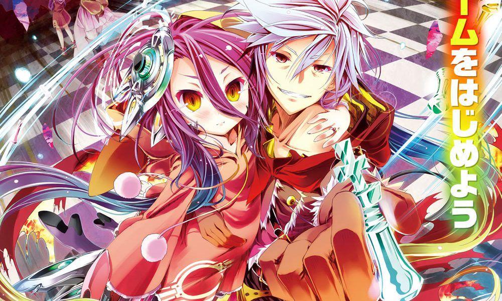 Nuestros dos protagonistas: Riku y Shuvi de No Game no Life: Zero