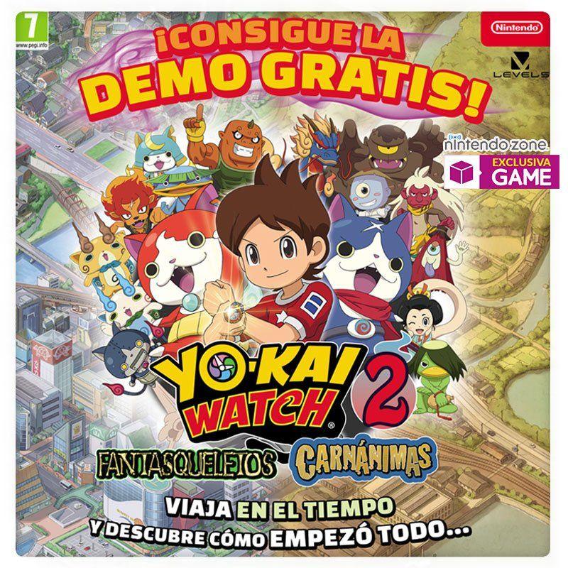 Descarga La Demo De Yo Kai Watch 2 En Tiendas Game Ramen Para Dos