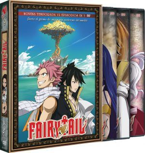 Fairy Tail – Temporada 10 (12 episodios en 3 DVD)