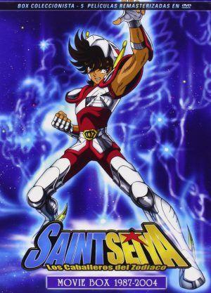Saint Seiya: Pack películas 1987-2004 DVD