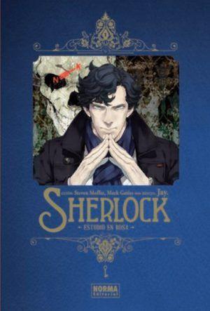 Sherlock: Estudio en rosa Deluxe #1