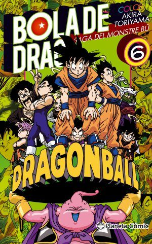 Bola de Drac Color – Saga del Monstre Bû #6