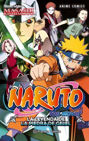 Naruto: La leyenda de la piedra de Gelel