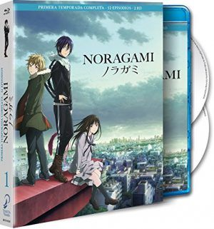 Noragami Temporada 1 Blu-ray