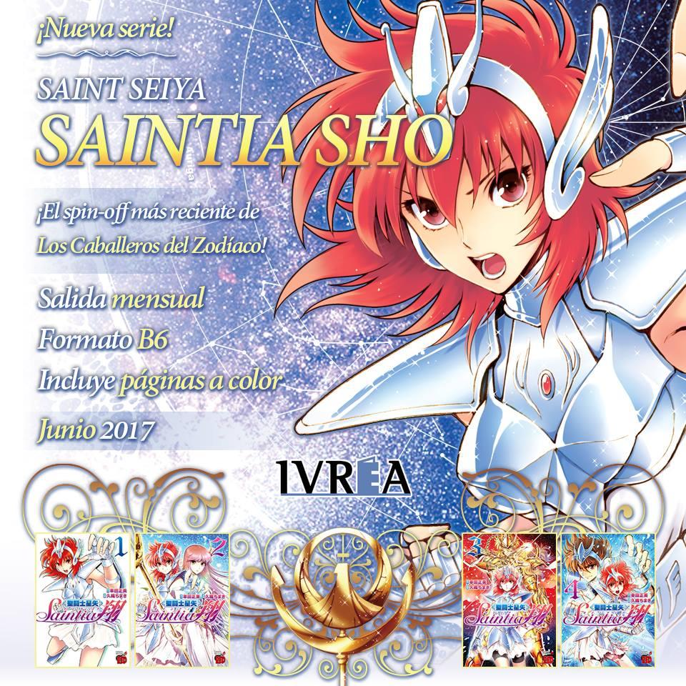 Editorial Ivrea Anuncia La Licencia De Saint Seiya