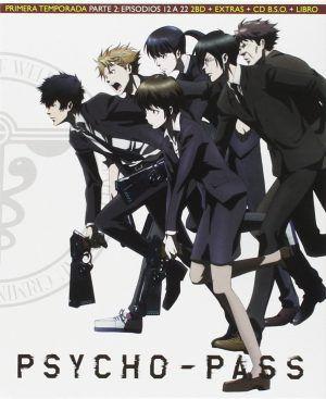 Psycho-Pass Temporada 1 Parte 2 BD