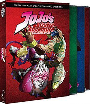 Jojo's Bizarre Adventure – Temp 1 Parte 1 – PHatom Blood DVD