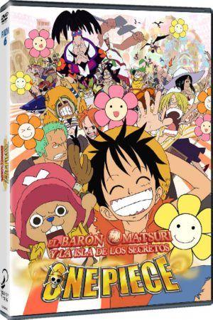 One Piece: El Barón Omatsuri y la Isla de los Secretos DVD