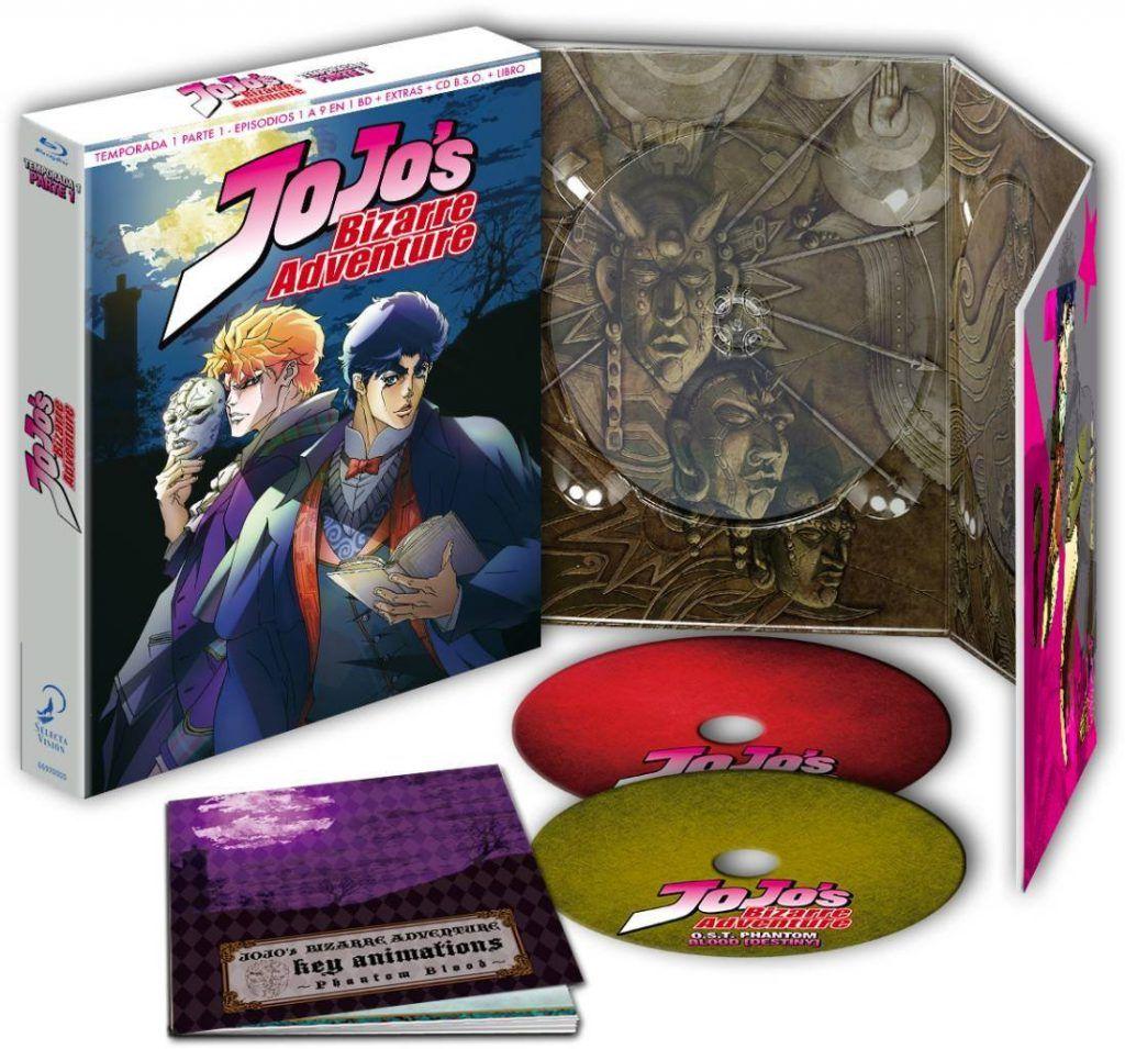 """JoJo's Bizarre Adventure Temporada 1 Parte 1 - Saga """"Phantom Blood"""" (Edición Coleccionista) Blu-ray"""