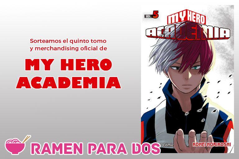 Concurso my hero academia