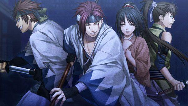 Hakuoki tendrá una nueva serie de OVAs