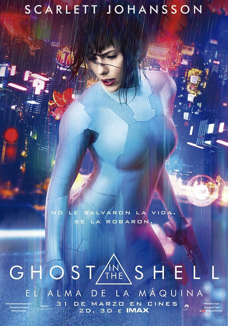 Ghost In The Shell El Alma De La Maquina Disponible En Netflix Espana En Octubre Ramen Para Dos