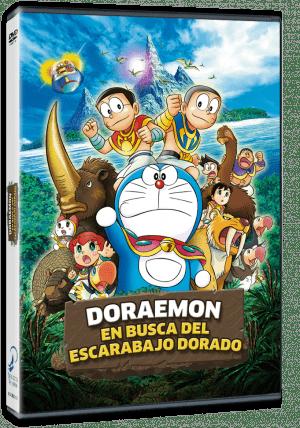 Doraemon en busca del Escarabajo Dorado DVD