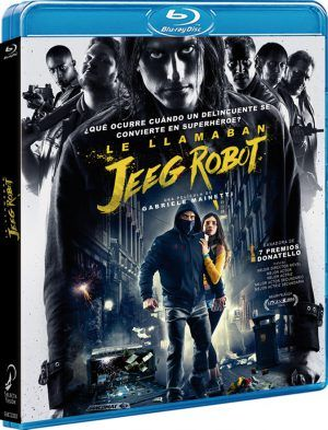 Le llamaban Jeeg Robot BD
