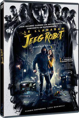 Le llamaban Jeeg Robot DVD