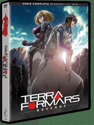 Terra Formars Revenge – Temporada 2 DVD