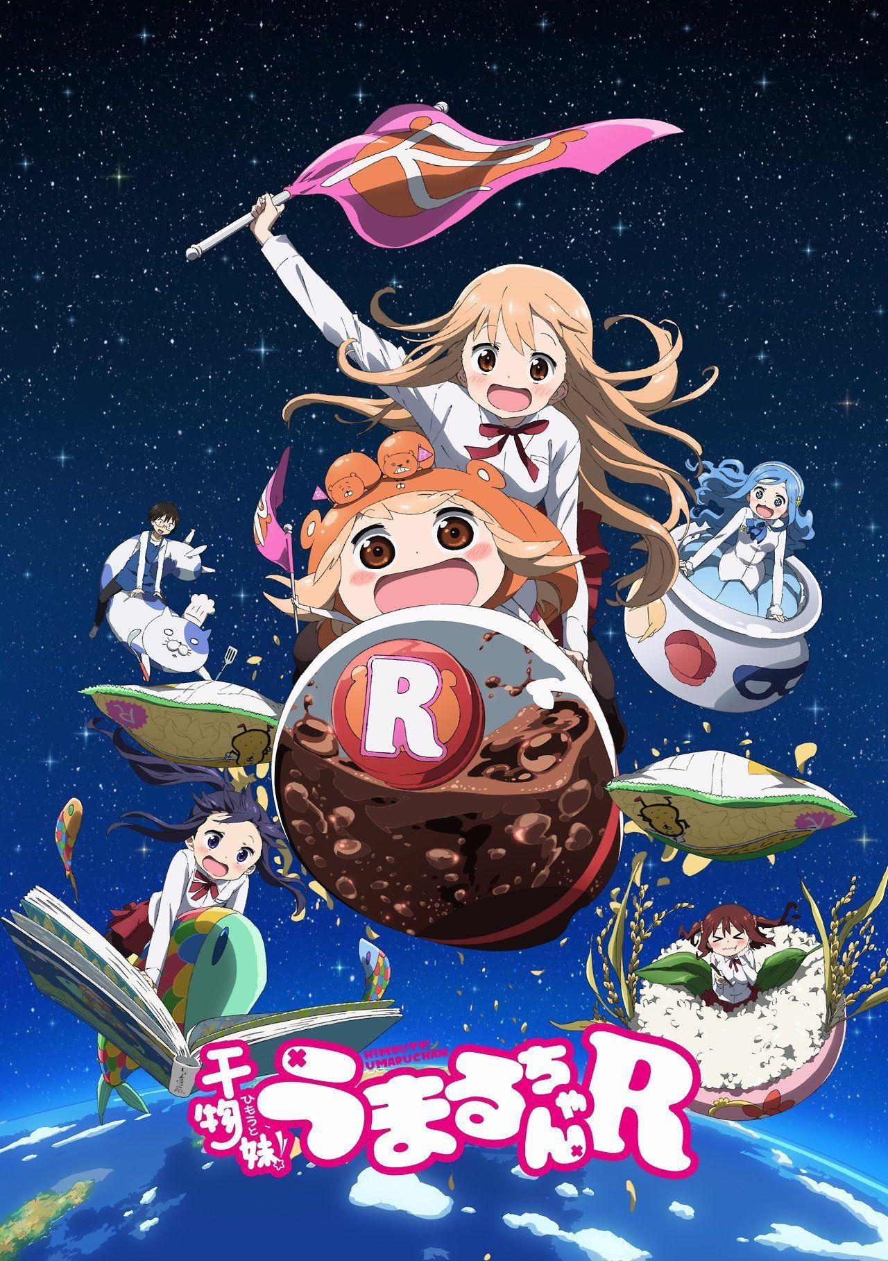 Tráiler 2ª Temporada Himouto! Umaru-chan Himouto-Umaru-chan-R-key