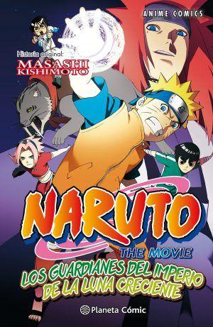 Naruto: Los guardianes del imperio de la luna creciente #1