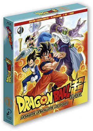 Dragon Ball Super. Box 1. La Saga De La Batalla De Los Dioses Episodios 1 A 14 Blu-Ray Edición Coleccionistas