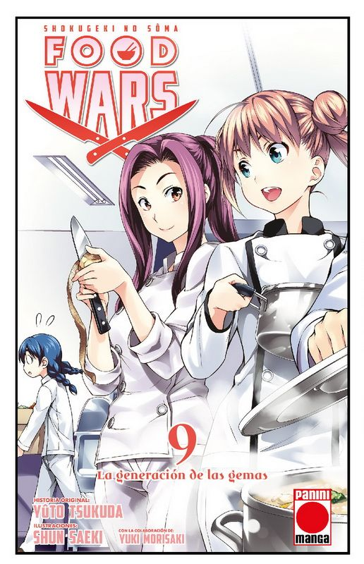 Food Wars: Shokugeki no Soma 9