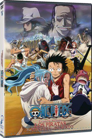 One Piece: La saga de Arabasta. Los piratas y la princesa del desierto DVD