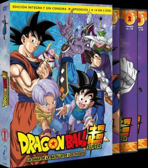 Dragon Ball Super Box 1 La Saga De La Batalla De Los Dioses Episodios 1 A 14