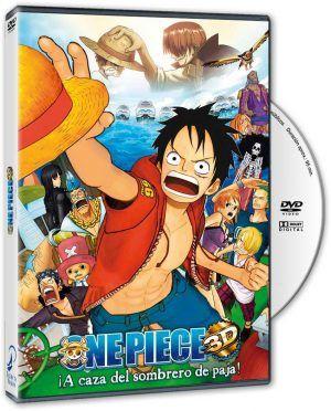One Piece 3D: Persecución del Sombrero de Paja DVD