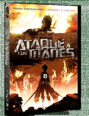 Ataque a los titanes – Temporada 1 #1 DVD
