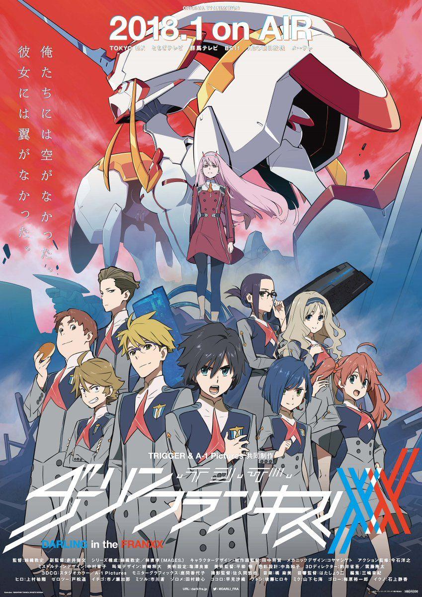 """Prohiben en china anime Darling in the fraxx por """"sexsista"""""""