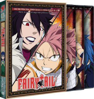 Fairy Tail – Temporada 13 (11 episodios en 3 DVD)