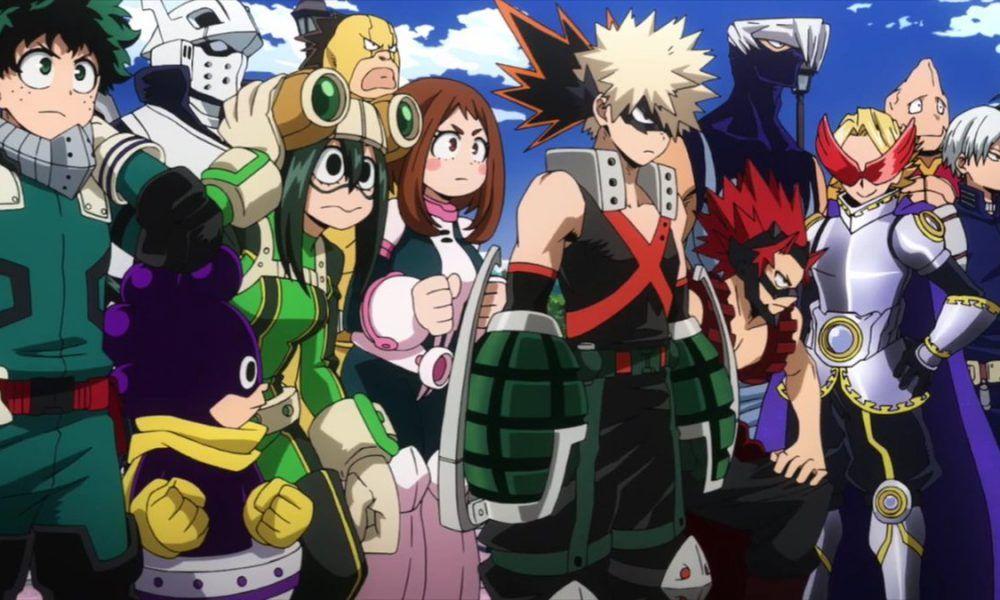 El anime de My Hero Academia tendrá una cuarta temporada - Ramen ...