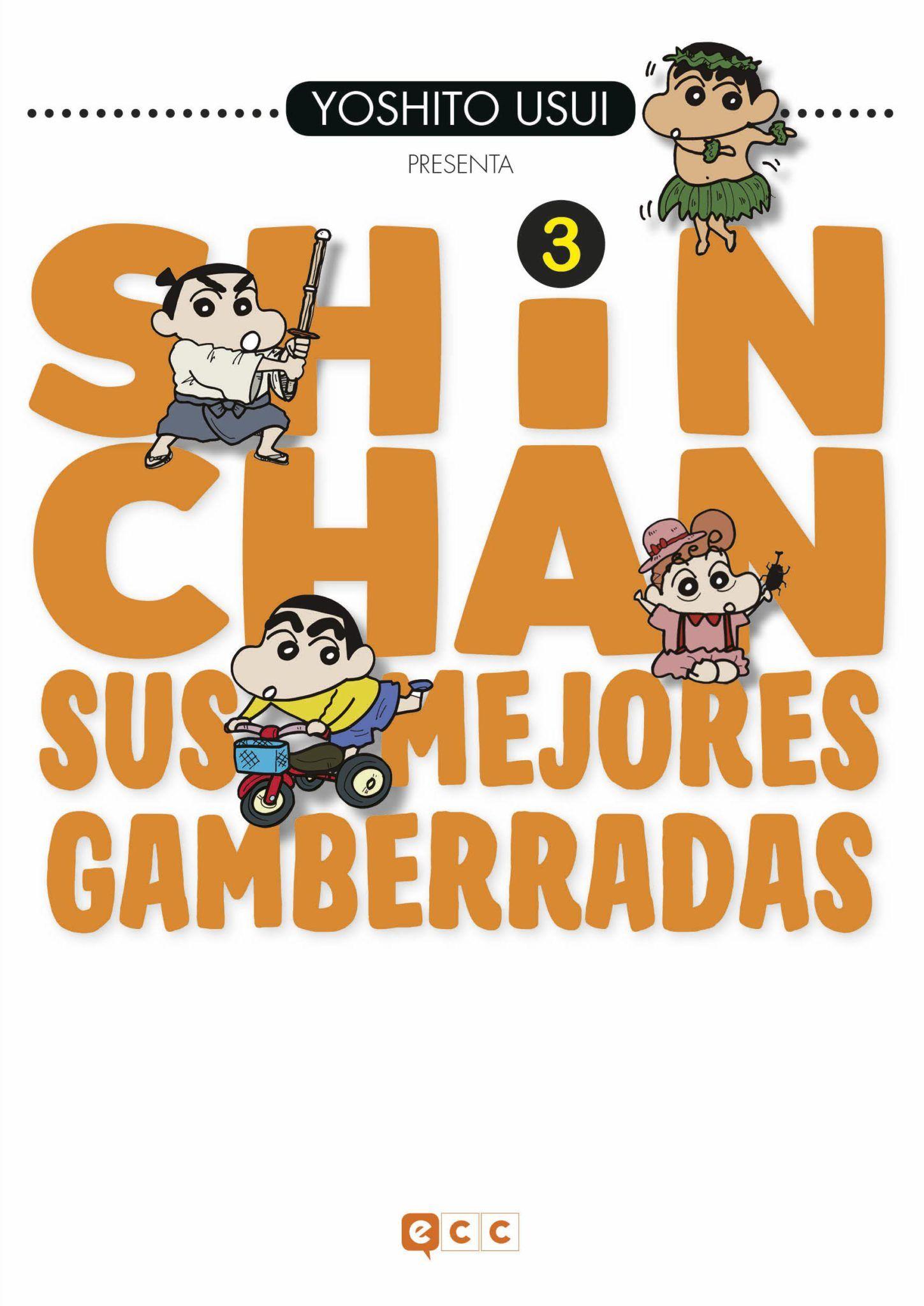 Shinchan Sus mejores gamberradas 3