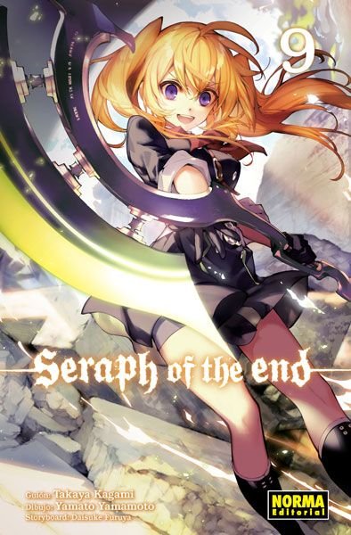 seraph of the end 9