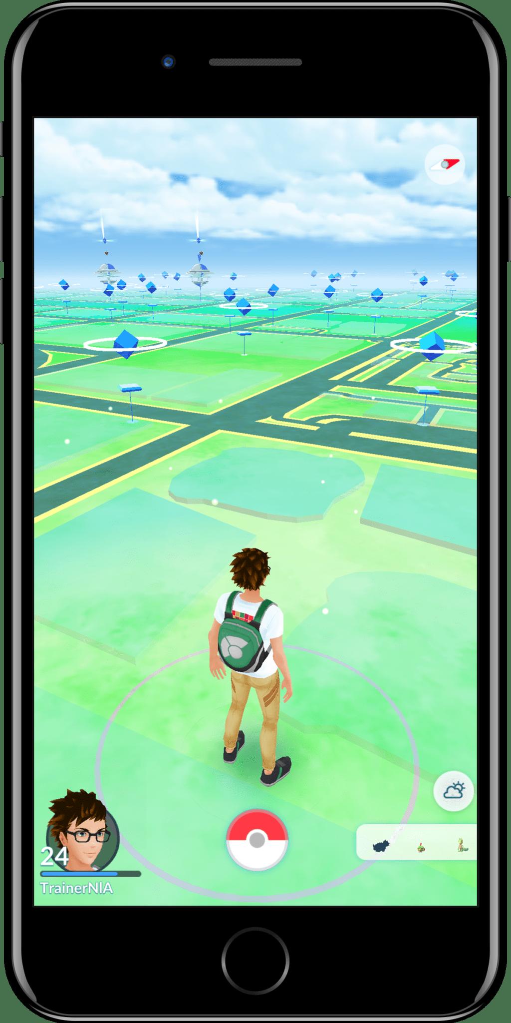 Clima nublado pokemon go