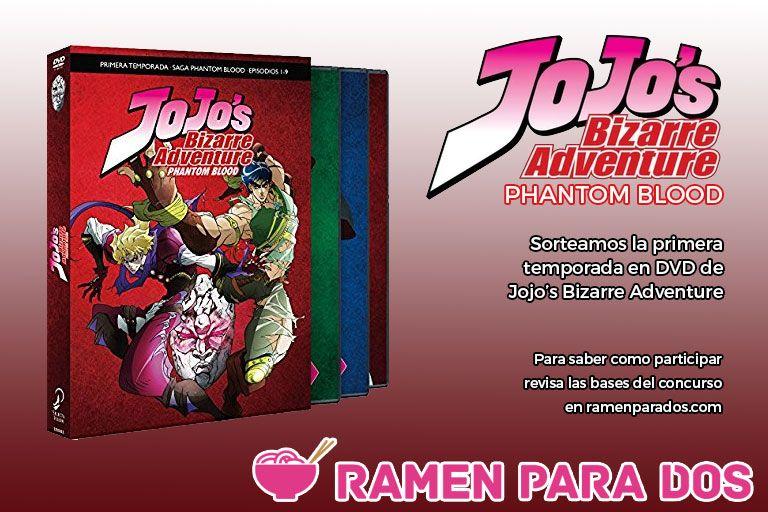 Concurso Jojos DVD
