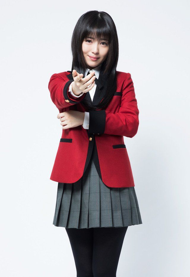 Actriz Minami Hamabe del live-action de Kakegurui