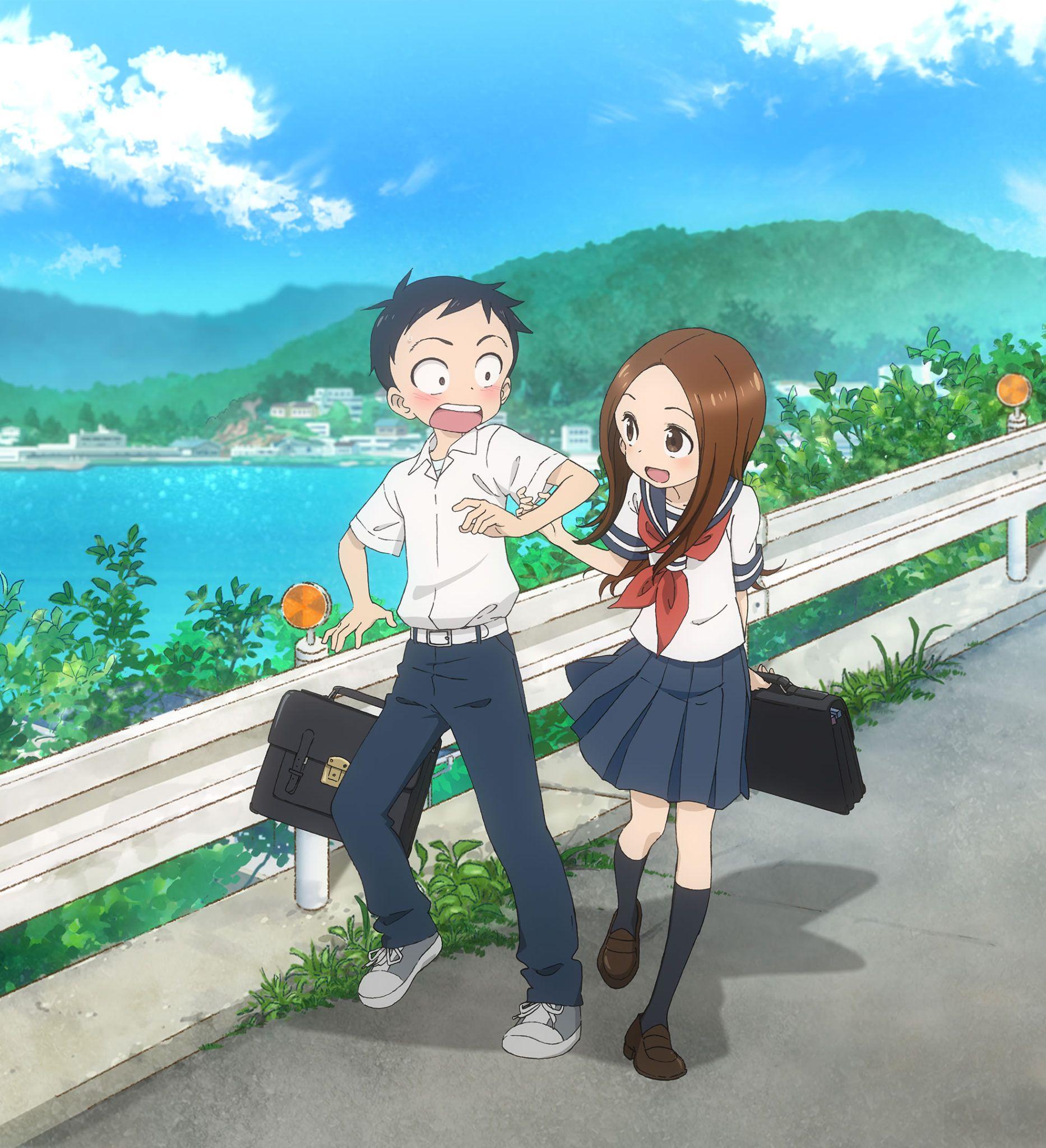 crunchyroll anuncia los simulcast de karakai jouzu no