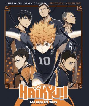 Haikyu!! Los Ases del Vóley – Temporada 1 BD