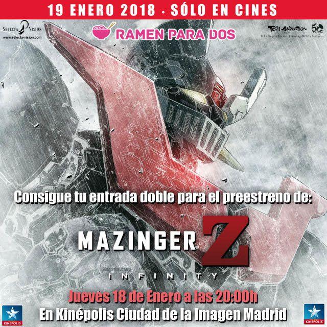 Concurso Mazinger PreEstreno