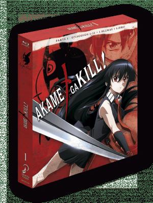 Akame Ga Kill Parte 1 – Edición coleccionista BD