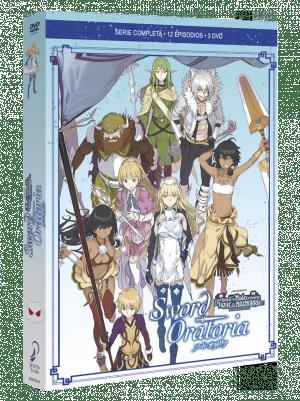 Sword Oratoria – Serie compelta DVD
