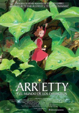 Arrietty y el Mundo de los diminutos DVD
