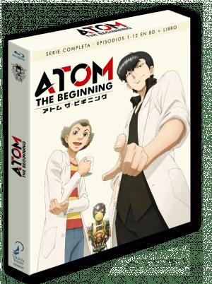 Atom The Beginning – Temporada 1 Edición coleccionista BD