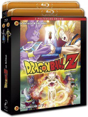 Dragon Ball Z. La Batalla de los dioses + La resurrección de F –Edición Extendida BD